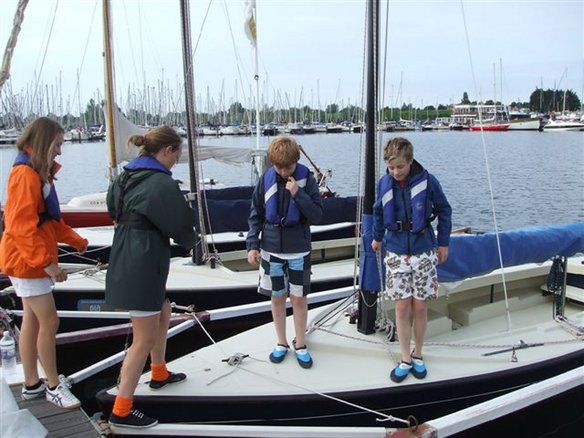 Sailing group